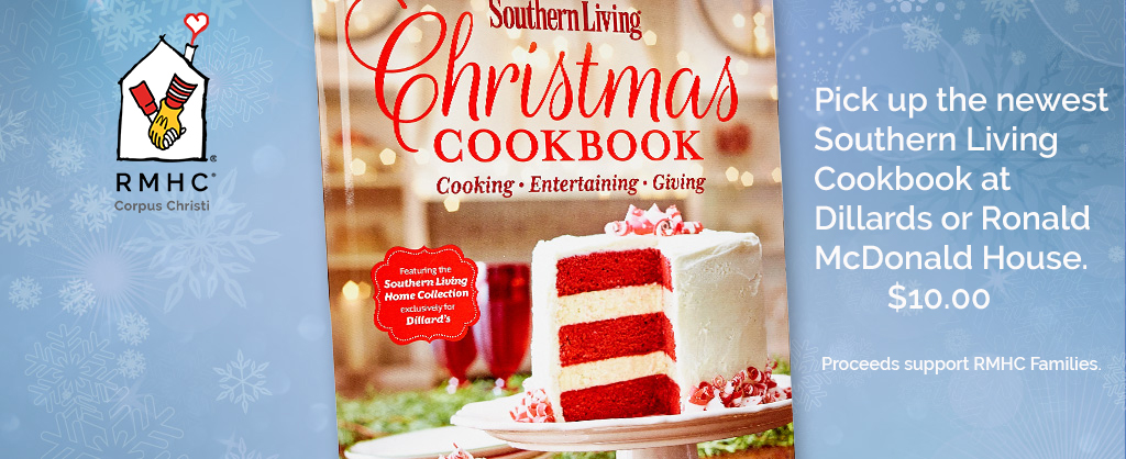 Southern Living Christmas Cookbook for sale for $10